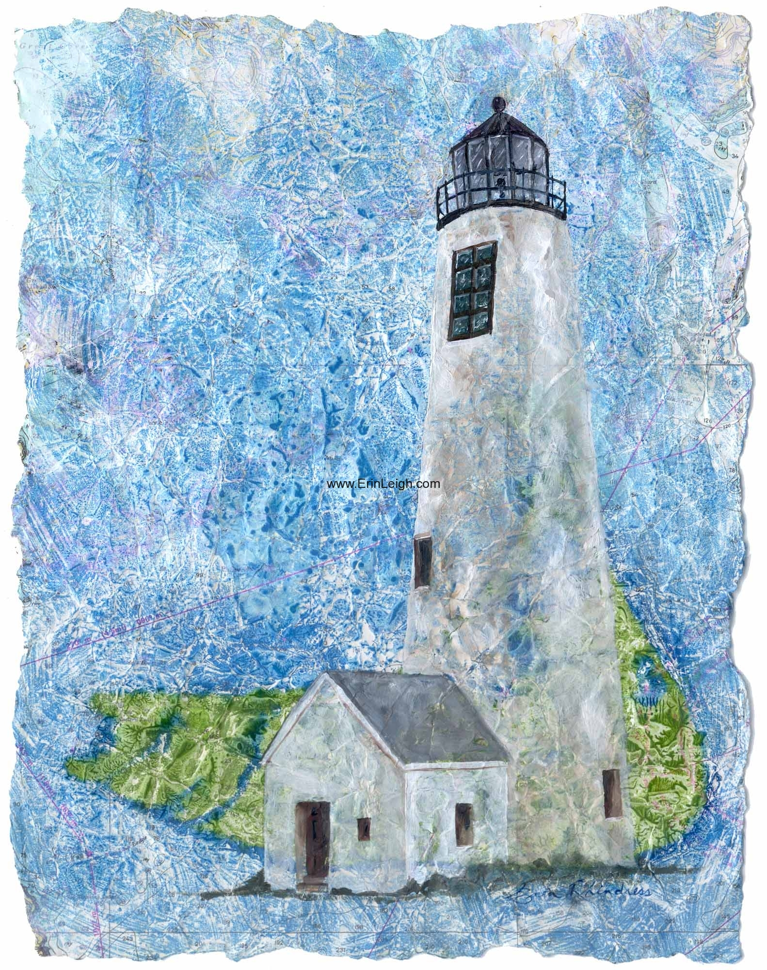 Nantucket Great Point Lighthouse by Erin Leigh