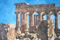 Temple E Selinus Greece by Erin Leigh