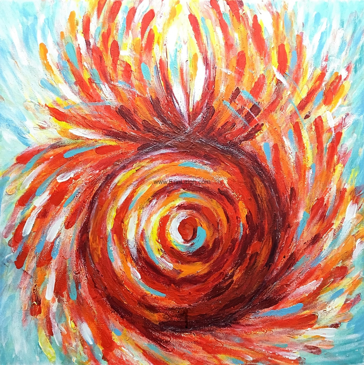 Root Chakra, Chakra Series by Erin Leigh