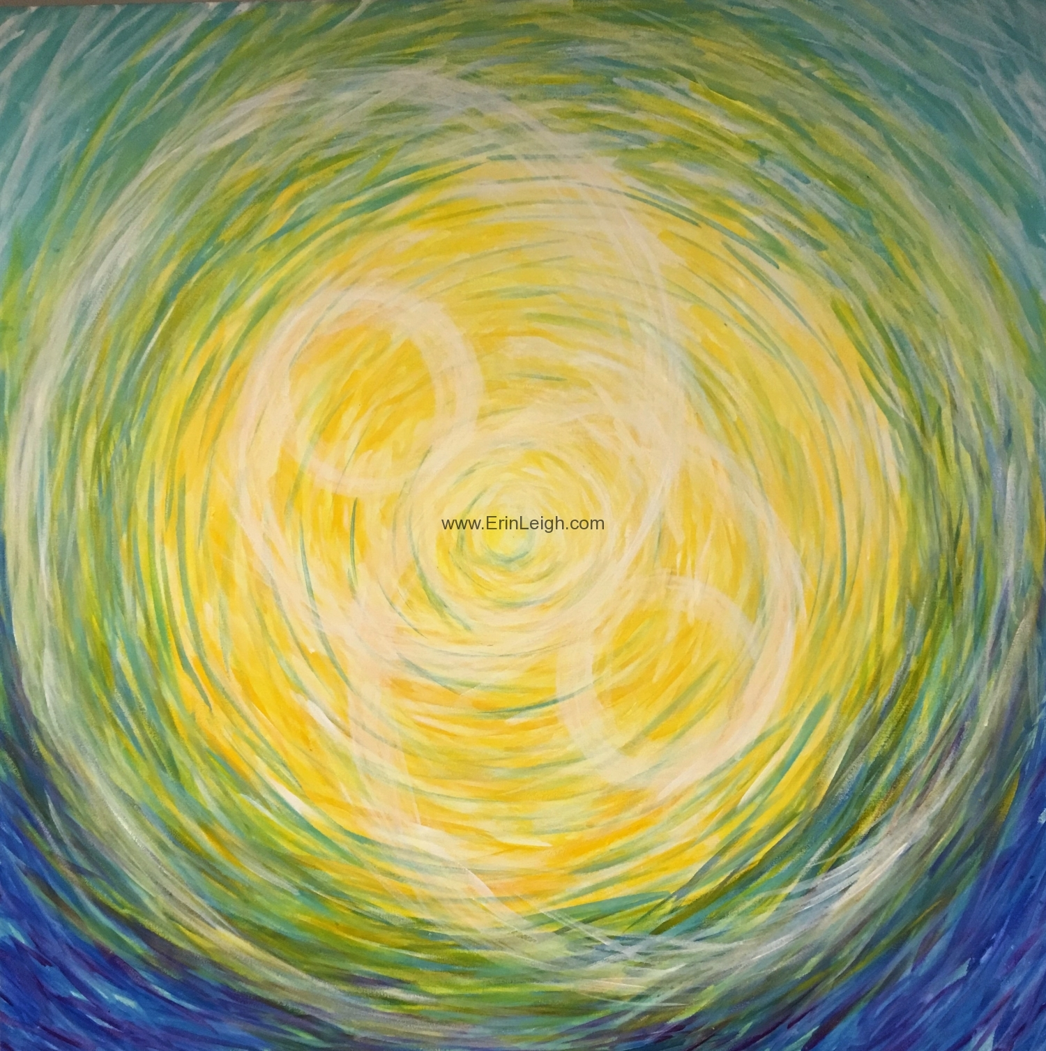 One Becomes Two, Chakra Series by Erin Leigh