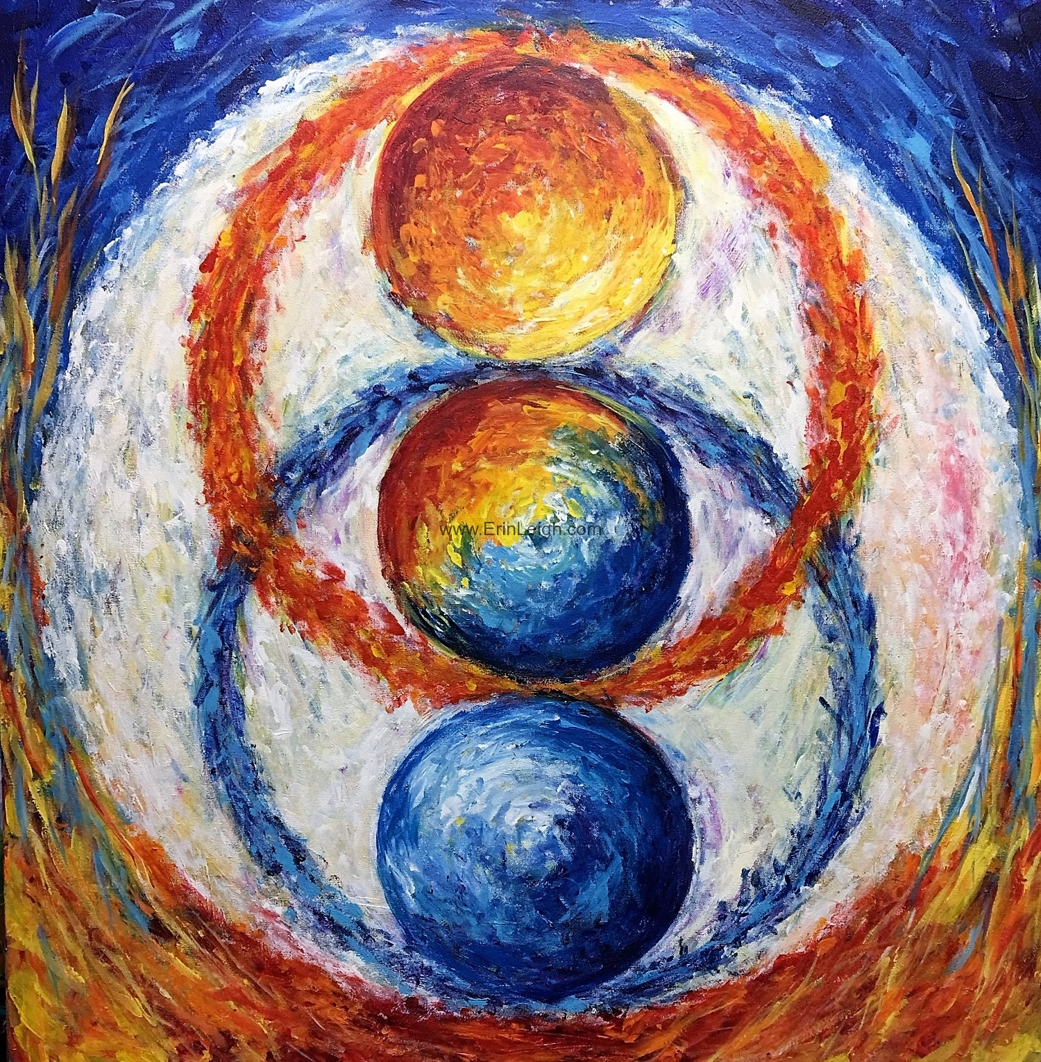 One Plus One is Three, Chakra Series by Erin Leigh