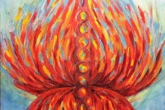 Chakra Lotus by Erin Leigh, Chakra Series by Erin Leigh