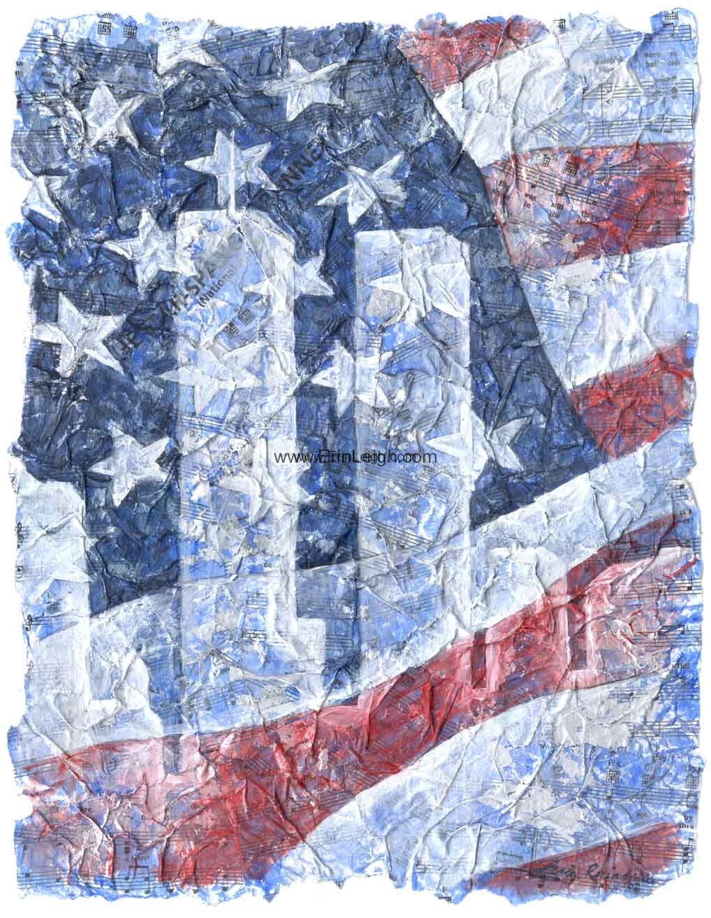 Our Flag Was Still There by Erin Leigh