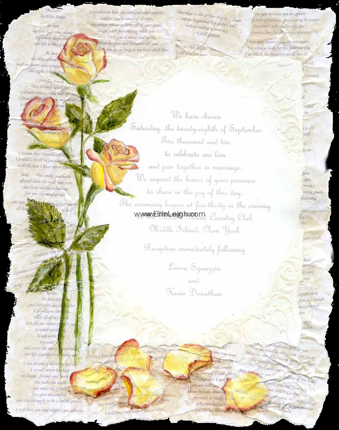 Wedding Collage by Erin Leigh