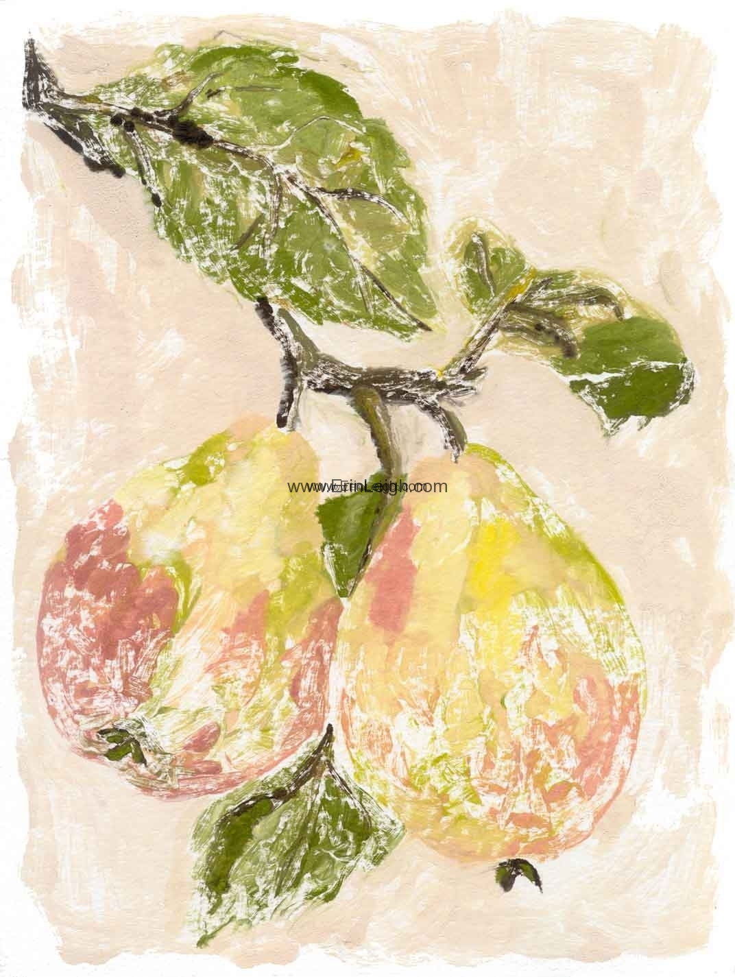 Pears by Erin Leigh