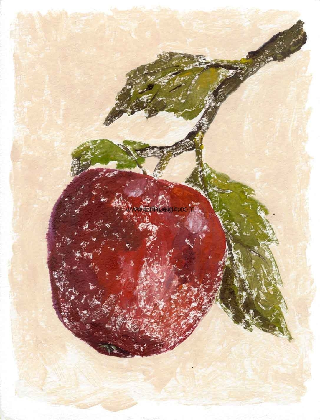 Red Apple by Erin Leigh