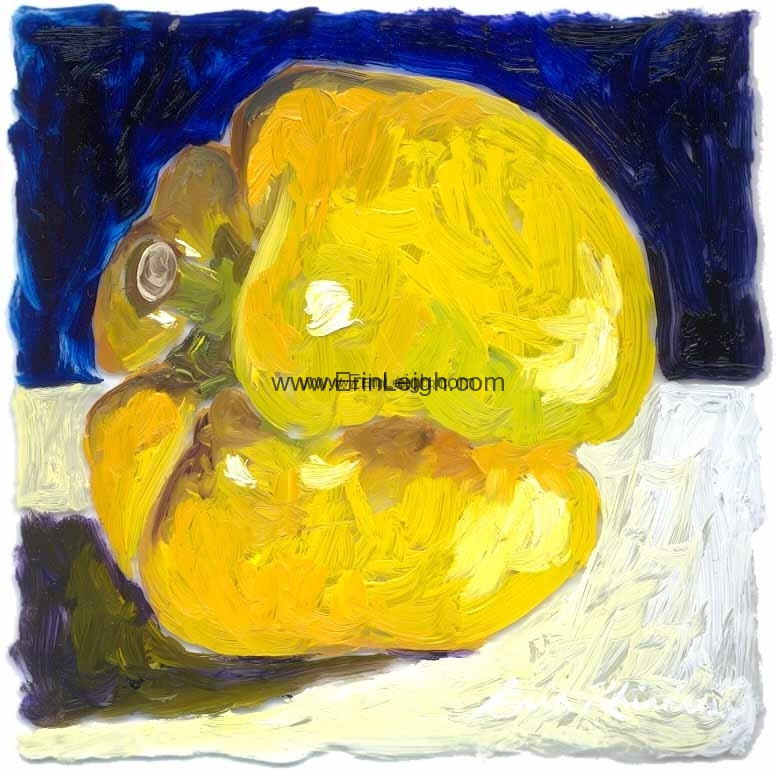 Yellow Pepper by Erin Leigh