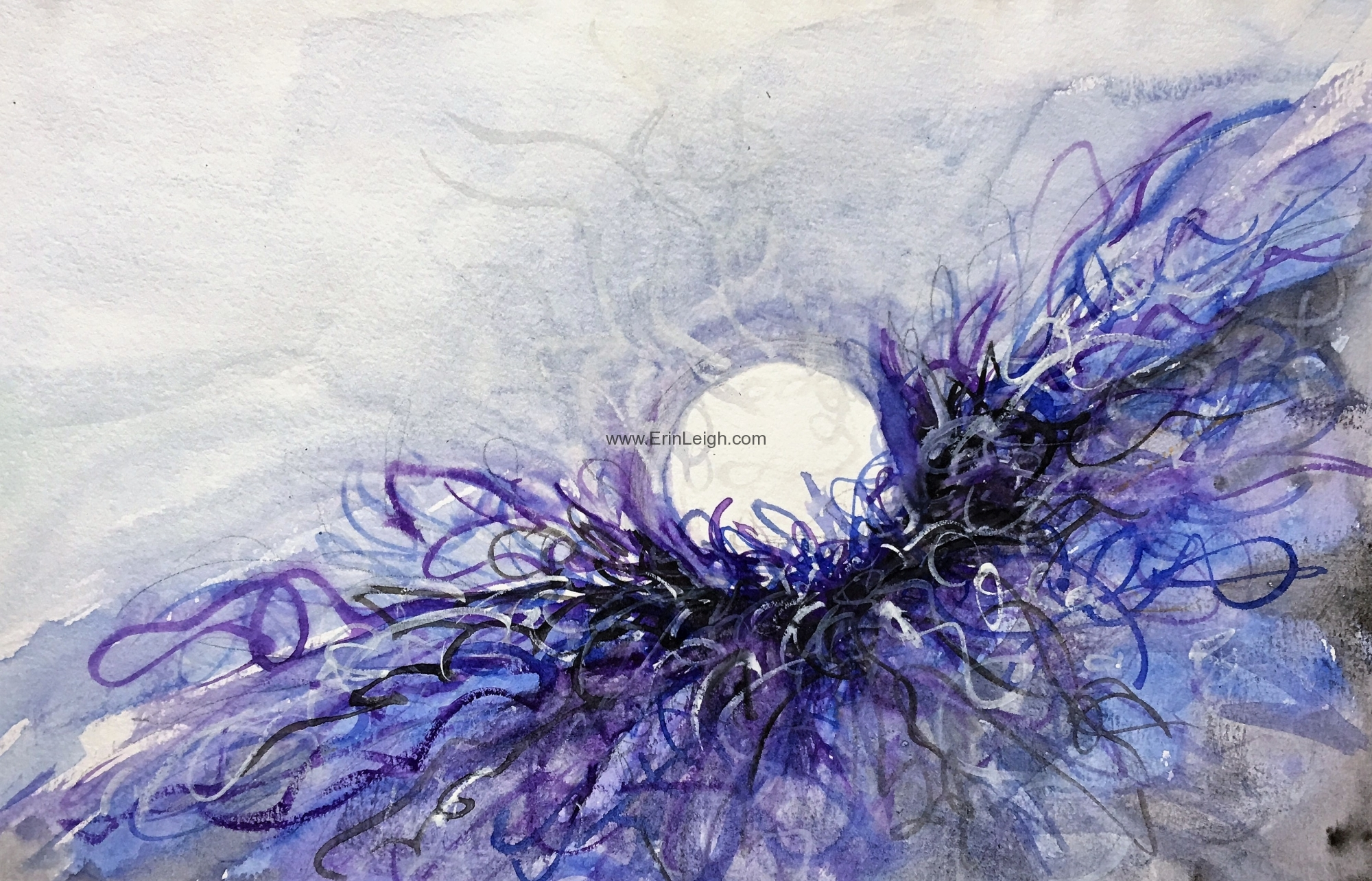Cradled - Study 46 - Journey to One by Erin Leigh