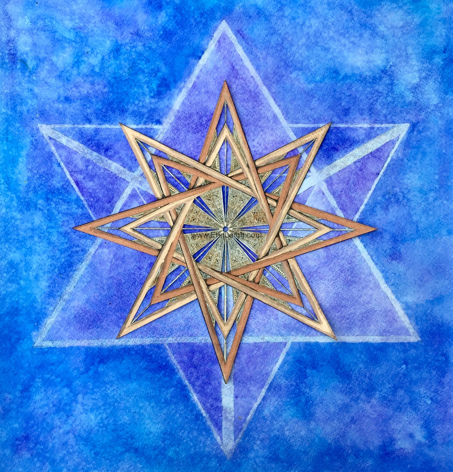 8 pointed stars by Erin Leigh