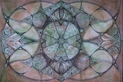 Through the Eye of Vesica Pisces by Erin Leigh