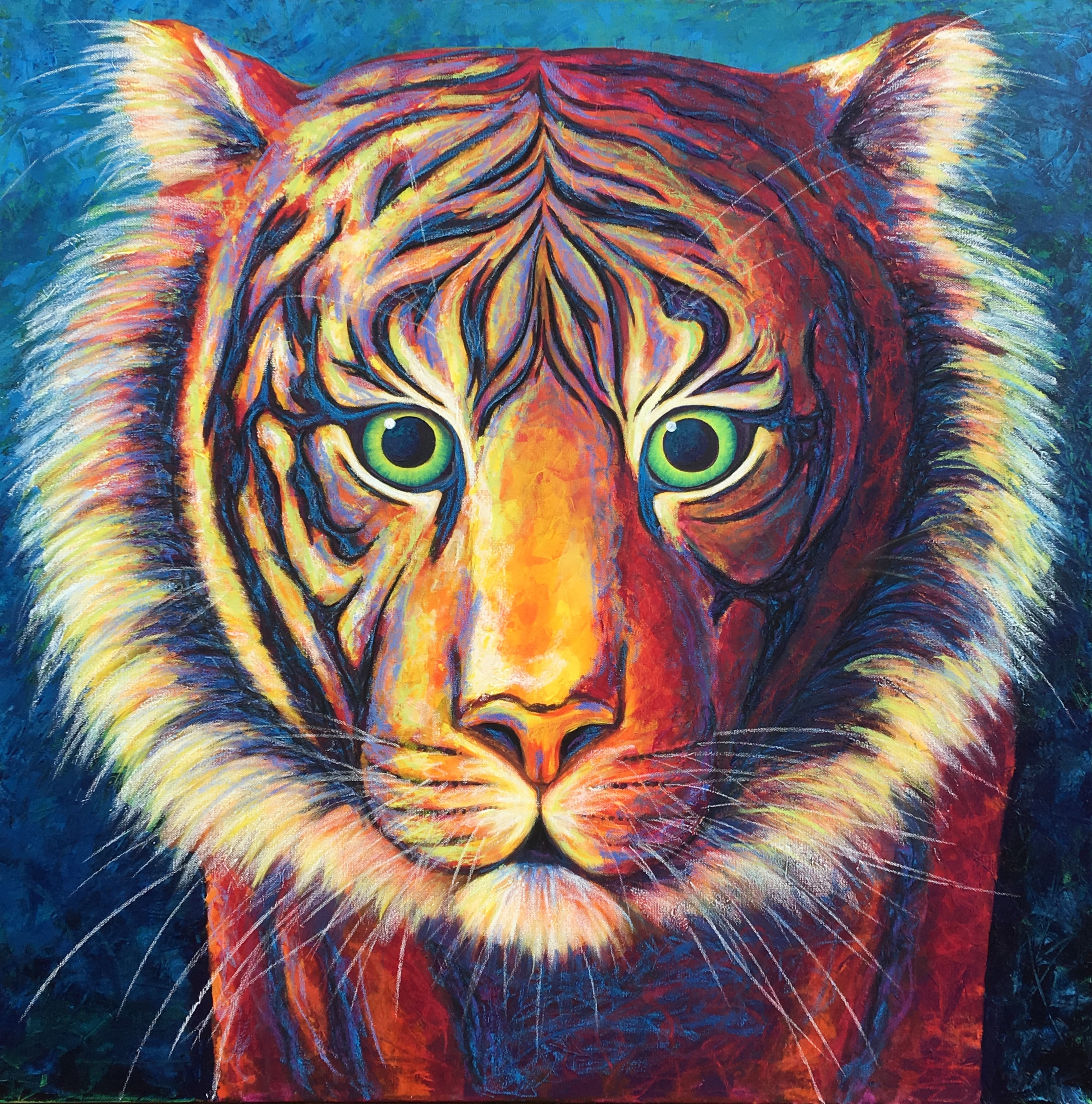 Red Tiger by Erin Leigh